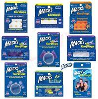 Swimming Earplugs Mack's Ear Band Headband - MACKS Adult Kids Children Ear Plugs