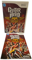 Guitar Hero Aerosmith W Manual Nintendo Wii Game