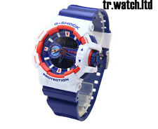 New Casio G-Shock GA-400CS-7AJF White Navy/Blue Dial Analog Digital Men's Watch