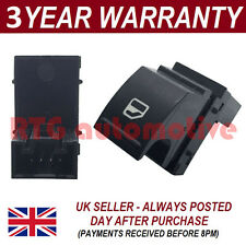 ELECTRIC POWER WINDOW SWITCH CONTROL BUTTON FOR SKODA OCTAVIA 2004-15 FRONT LEFT