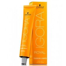 Schwarzkopf Igora Royal Fashion Lights Hair Color 60ml - IGORA ROYAL HAIR COLOUR