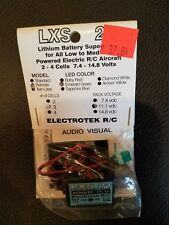 LXS 21 LITHIUM BATTERY SAVER R/C AIRCRAFT FOR AUDIO VISUAL