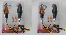 4 FRECCE NERE CORTE 62x31+ LAMPADINE per HONDA Africa Twin CRF1000 Adventure