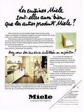 PUBLICITE ADVERTISING  1980    MIELE  cuisines équipées