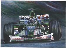 Eddie Irvine, Jaguar art print
