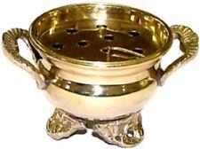 Brass Cauldron burner, 2 inch~Incense~ Aromatherapy~Altar Item ~Spellcraft~Pagan
