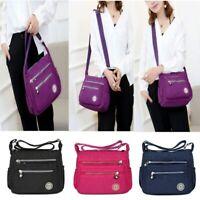 Women Nylon Waterproof Messenger Bags Crossbody Casual Handbags Shoulder Bag