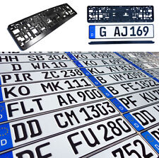 ORIGINAL German License Plate Subaru Suzuki Audi BMW Mercedes Benz Porsche VW -