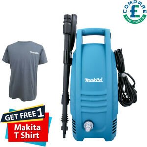 Makita HW101 1450PSI/100 Bar Compact Electric Pressure Washer 240V With T-Shirt