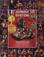 (Good)-Joe Weider's Bodybuilding System (Paperback)-Weider-0945797265