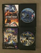 PC Video Game Bundle Star Trek Online & Lego Universe Both PC Games Included!