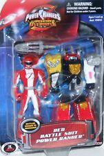 """Power Rangers Operation Overdrive 4"""" Red Battle Ranger to Megazord New 2006"""