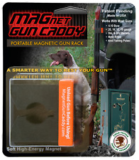 Magentic Gun Rack - Instant gun rack attaches to steel surfaces, Vehicles etc