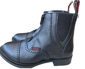 Bonzer Boots, Leather Front Zip Boots Style 1721