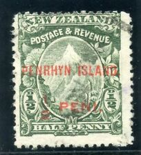 Cook Islands Penrhyn 1902 KEVII ½d green very fine used. SG 9. Sc 5.