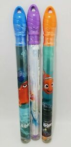 Giant Bubble Wand Disney Finding Dory & Disney Priness Mixed Toy Lot Of 3