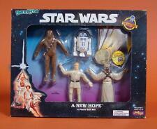 NIB Bend-Ems Star Wars 4 pc Gift Set A New Hope Luke Skywalker R2-D2 Chewbacca