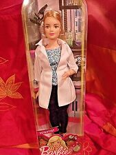 BARBIE I CAN BE ANYTHING SCIENTIST  CURVY BODY STYLE NEW MINT NRFB  2016