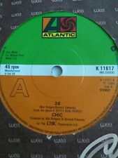 "CHIC - 7"" Vinyl - 26 / Chip Off The Old Block - 1980 - Atlantic"