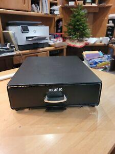 Keurig Under Brewer Storage Drawer- Rolling Coffee Pod Storage Drawer
