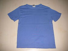 C & A tolles T-Shirt Gr. 110 einfarbig blau !!