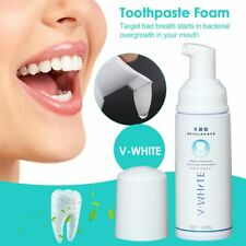 V-WHITE Whitening Toothpaste Foam Oral Hygiene Toothpaste Deep Teeth Cleaning