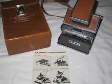 Polaroid SX 70 Land Camera w/ Leather Case