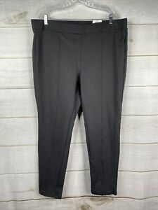 NWT Style&Co Carbon Gray Leggings Women's Plus 20W Elastic Waist Back Pockets