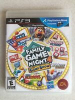 Family Game Night 4 The Game Show Playstation 3 ps3 Complete With Manual.