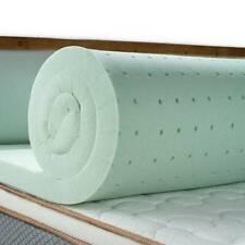 Maxzzz FULL Size 2 INCH / 3 INCH Mattress Topper Memory Foam Green Tea  Bed Pad