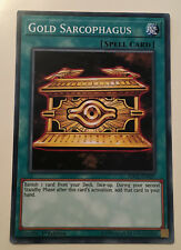 Gold Sarcophagus SDCL-EN027 1st Edition YuGiOh NEW