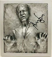 Star Wars Harrison Ford Signed Carbonite Bust Hans Solo BAS Beckett Witness LOA