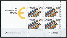 Portugal - 25 Jahre EWG Block 34 postfrisch 1981 Mi. 1556