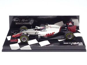MINICHAMPS 1:43 HAAS F1 TEAM VF-16 R. GROSJEAN 2016