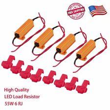 4x 50W 6ohm LED Load Resistors Turn Signal Blink Bulb Fast Hyper Flash Blinker
