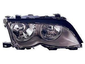 Bmw 3 Series Headlight Unit Driver's Side Headlamp Unit 2001-2005