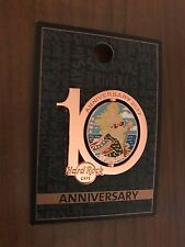 Hard Rock Cafe Warsaw 10 anniversary pin LE