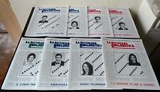 Lotto 8 numeri La settimana enigmistica del 2010, da edicola