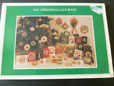 The Chirstmas Lace Book by Christine Springett - Lacemaking Manual / Patterns