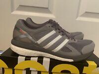 Adidas Adizero Tempo 7 Running Shoes Women's US 8.5 Grey White B22866 NEW