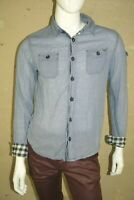 JAPAN RAGS Taille M Superbe chemise manches longues bleue homme shirt