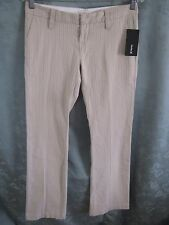 Hurley Lowrider Textured Stripe Boot Cut Pants Size 5 NWT