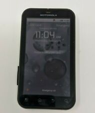 "Motorola Defy MB525 3G WiFi GPS GSM 3.7"" 5MP Android Smartphone  WHITE & BLACK"