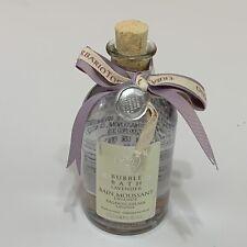 ERBARIO TOSCANO BUBBLE BATH Lavender 8.45 FL OZ GLASS BOTTLE MADE IN ITALY NEW