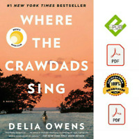 Where the Crawdads Sing by Delia Owens pdf EB00K  🔥 1 DAY DELIVERY 🔥