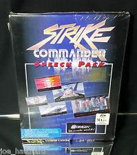 """Strike Commander Speech Pack 3.5"""" 1.44M Disk (1993) - BRAND NEW"""