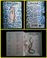-Just Cavalli Blue Man 1.6ml (profumo campione perfume vial parfum Duft нюх 香り 小