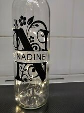 Personalized Name Led Bottle