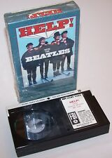 Vintage 1987 The Beatles HELP! MPI Beta Home Video Cassette - Betamax - Lennon