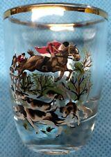 Fox Hunt Hunting Shot Glass #2